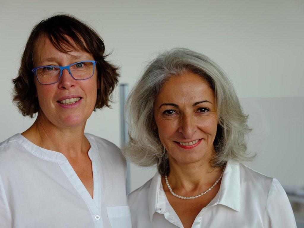 Dr Boyaci und Dr de Groot-Rudolph